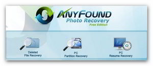 Бесплатная программа  для восстановления фотографий
