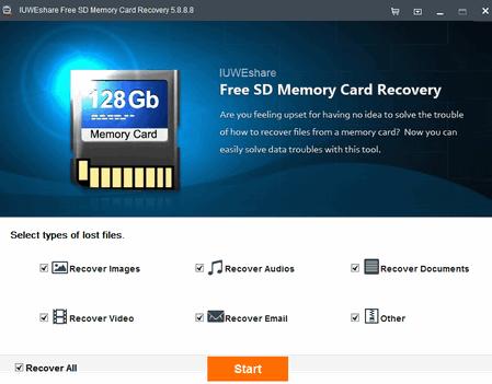 Программа для восстановления данных с карты памяти